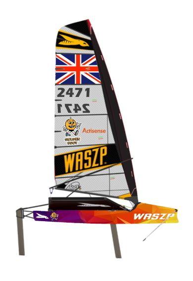 Waszp Sailing Boat